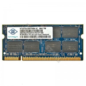 Nanya 2GB DDR2 667MHz notebook memória (NT2GT64U8HD0BN-3C)