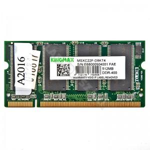 Kingmax 512MB DDR 400MHz notebook memória (MSXC22F-D8KT4)