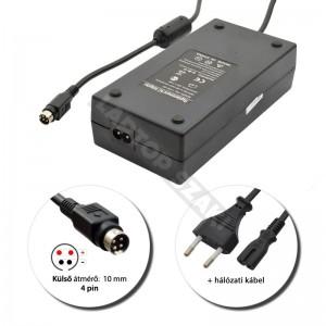 LiteOn 19V 7.9A (150W) 4-pin laptop hálózati töltő