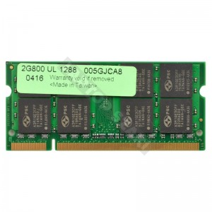 Samsung 2GB DDR2 800Mhz notebook memória (M470T5663EH3-CF7)