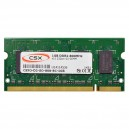 CSX 1GB DDR2 800MHz laptop memória