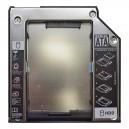 SATA For IBM Thinkpad T60, T60p, T61, T61p 2nd HDD/SSD caddy, második winchester beépítő keret