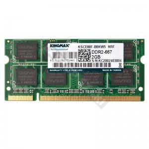 Kingmax 2GB DDR2 667MHz notebook memória (KSCE88F-B8KW5)