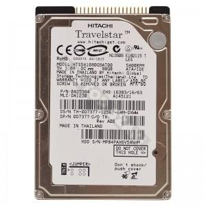 "Hitachi HTS541080G9AT00 80GB IDE 2,5"" használt laptop winchester"