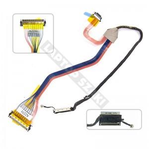 "0PM853, DD0FM2LC507 használt LCD LVDS kábel, 15.4"""