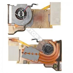 IBM T43, T43p komplett hűtés, ventilátor