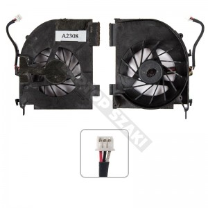 AB7405UX-HB3 (1 air out) hűtés, ventilátor