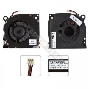 Dell Latitude D620, D630 hűtés, ventilátor