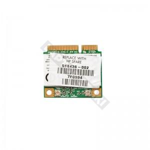 518436-002 Atheros AR5B95 802.11b/g/n mini PCI-E wifi kártya