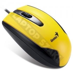 Genius DX-100 Sárga USB egér