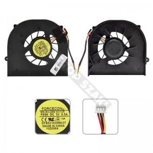 BFB0705HA hűtés, ventilátor