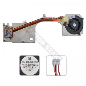 13GNLB1AM020-1, UDQF2ZR09BAS használt komplett hűtés