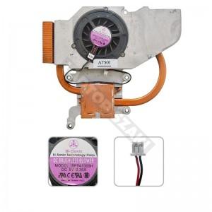 40-UD7710-00 használt komplett hűtés