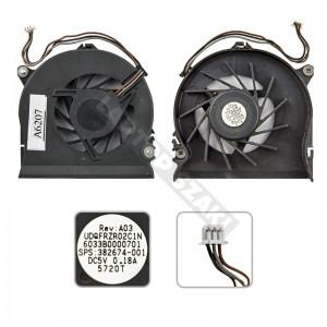 HP Compaq nc8230, nw8240, nx8220 hűtés, ventilátor