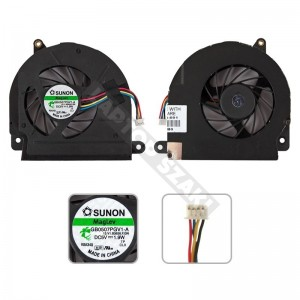 HP EliteBook 8530p, 8530w hűtés, ventilátor