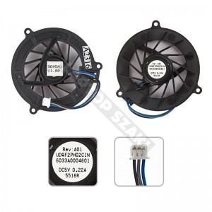 345065-001 hűtés, ventilátor