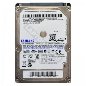 "Samsung HM320II 320GB SATA 2,5"" használt laptop winchester"