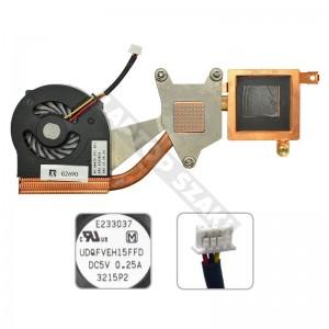 Thinkpad X60, X60s, X61, X61s 42X3804 komplett hűtés