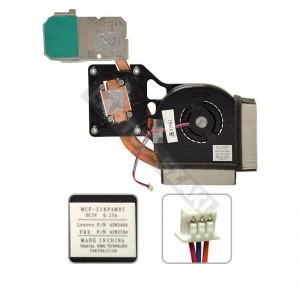 ThinkPad 42W2780 R61, R61i, R61e ventilátor