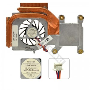 46P3099 IBM Thinkpad R40, R40e használt, komplett hűtés