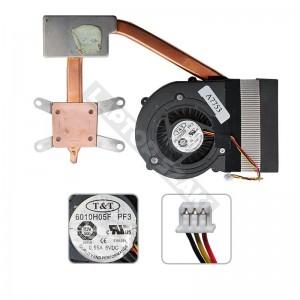 E32-0900471-TA9, 6010H05F PF3 használt komplett hűtés