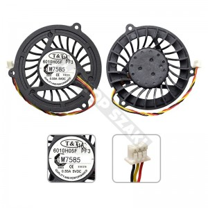 6010H05F, PF3 gyári új hűtés,ventilátor
