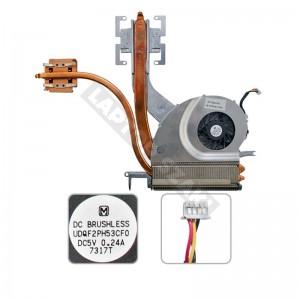 NBT-CPM610-H1, UDQF2PH53CF0 használt komplett hűtés