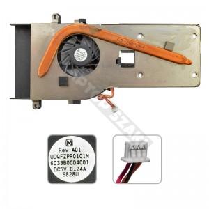 6043B0011901, UDQFZPR02C1N használt komplett hűtés