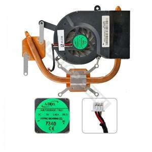 AB7205HX-TB3 használt komplett hűtés