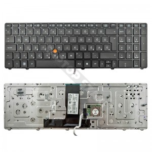 652553-211 HP EliteBook 8760w gyári új magyar billentyűzet