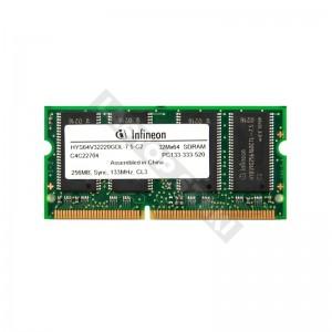 Infineon 256 MB SD RAM 133 MHz notebook memória