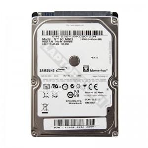 "Samsung  ST160LM003 160GB SATA 2,5"" gyári új laptop winchester"