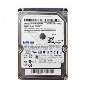 "Samsung HN-M250MBB 250GB SATA 2,5"" gyári új laptop winchester"