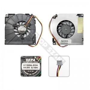 Asus A3, A3000 hűtés, ventilátor