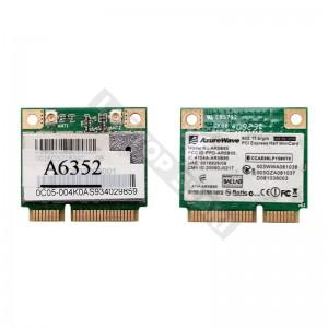 AzureWave NE785H 802.11b/g/n mini PCI-E wifi kártya