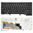 007W2R használt svéd háttérvilágításos laptop billentyűzet