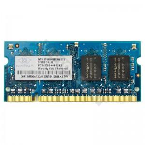 Nanya 512MB DDR2 533Mhz notebook memória (NT512T64UH8B0FN-37B)