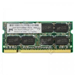 Micron 2GB DDR2 800Mhz notebook memória (MT16HTF25664HY-800J1)