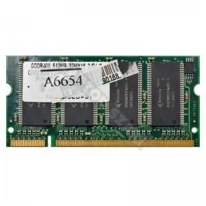 Qimonda 512MB DDR 400MHz notebook memória