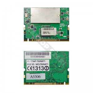 T60N871.00 802.11a/b/g  mini PCI wifi kártya