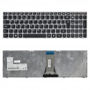 25215221 gyári új, ezüst-fekete, angol laptop billentyűzet