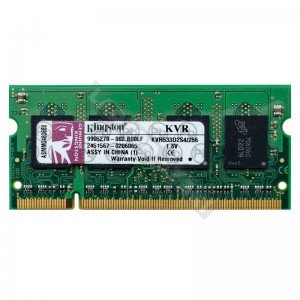 Kingston 256MB DDR2 533Mhz laptop memória (KVR533D2S4/256)