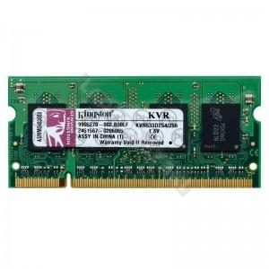 Kingston 256MB DDR2 533Mhz laptop memória (KVR533D2S4/256)