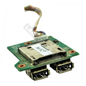 443883-001 használt SD kártyaolvasó és USB panel