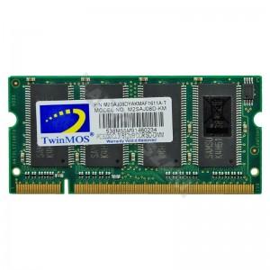 TwinMOS 512MB DDR 400Mhz használt notebook memória (M2SAJ08DYAKMAF1611A-T)