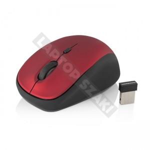 Modecom MC-WM6 vezetéknélküli optikai egér - piros