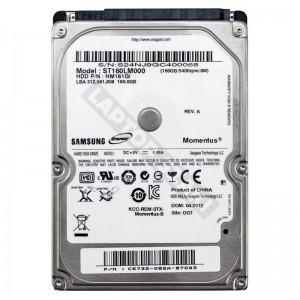 "Samsung ST160LM000 160GB SATA 2,5"" gyári új laptop winchester"