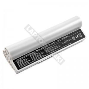 A22-700 7.4V 6600mAh 48Wh fehér, utángyártott új laptop akkumulátor