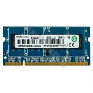 Ramaxel 1GB DDR2 667MHz notebook memória (RMN1150HC48D7F-667-LF)