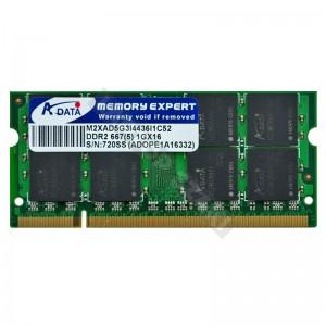 Adata 1GB DDR2 667MHz notebook memória (ADOPE1A16332)
